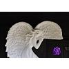 Anděl keramický - rohový 19 x 12 cm