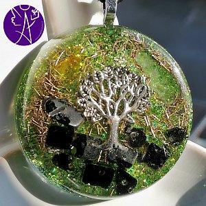 Orgonit - strom života očistná moc a ochrana 3,5cm