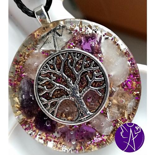 Orgonit strom života - spirituální vibrace 3,5cm