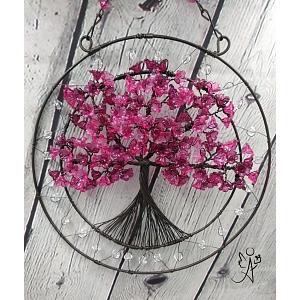 Drátovaný strom života - spirituální napojení 20 cm