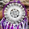 Lapač snů krajkový - spirituální vedení 16,5cm x 56cm