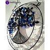 Drátovaný strom života - zesílení INTUICE 19x32cm