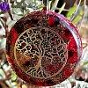 Orgonit - strom života laskavé srdce 3,5cm