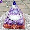 Orgonitová pyramida  velká- Čaroit  Duchovní vhled 6x7cm