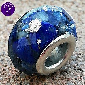 Orgonitový korálek do náramku - komunikace s lapis lazuli