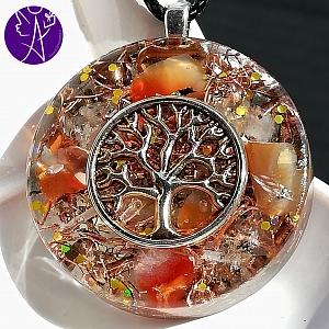 Orgonit strom života - slunce v duši 3,5cm