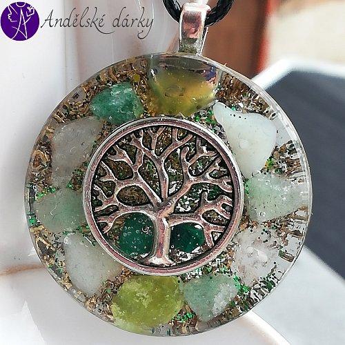 Orgonit strom života - uklidnění a harmonie 3,5cm