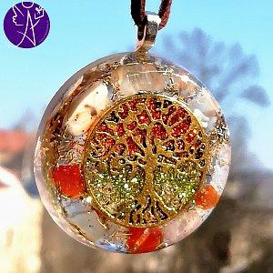 Orgonit - strom života odvaha a naplnění 3,5 cm