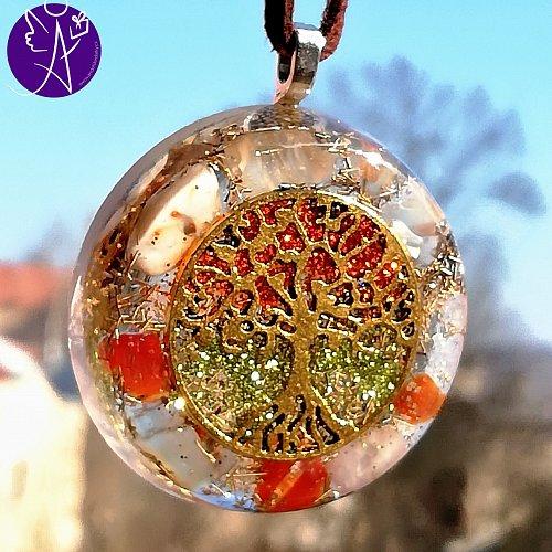 Orgonit - strom života odvaha a naplnění 3,5cm