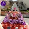 Orgonitová pyramida velká - podpora zdraví a imunity 6 x 6 cm