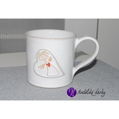 Andělský hrneček - keramika 250ml