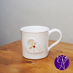 Andělský hrneček - keramika 250 ml