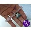 Náramek ze zlomků kamenů - růženín láska a něha