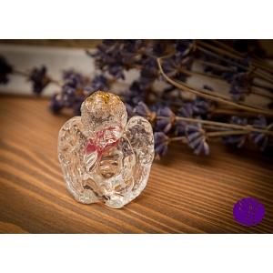Orgonitový anděl - andělská ochrana - hmatka 4 x 3,5 cm
