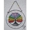 Drátovaný strom života - čakrový soulad 26x36cm