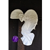 Anděl keramický - rohový 19x12cm