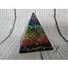 Orgonitová pyramida - harmonizace čaker 5,5 x 5,5 cm