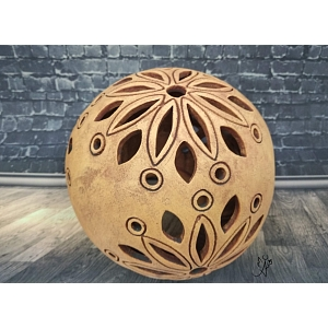 Lucerna keramická koule Mandala 15 cm