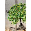 Drátovaný otevřený strom života - srdeční příval energie 27 cm