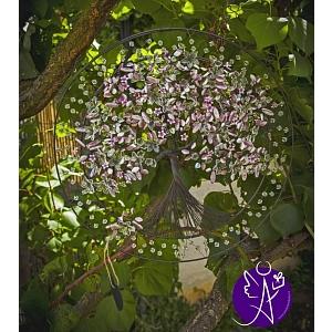 Drátovaný strom života - něžnost a láska 38 cm