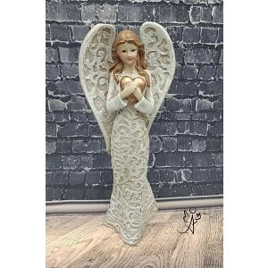 Andělská soška Zlatá něha 18 cm