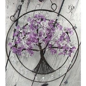 Drátovaný strom života - něžnost 20 cm