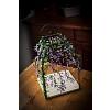 Drátěná lucerna Luční kvítí 28 x 19 x 19 cm