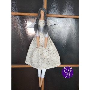 Andělka látková - vánoční hvězda 45 cm výška