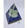 Orgonitová pyramida Světlo bezpečí, moudrosti a lásky  6 x 6 cm