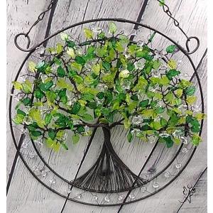 Drátovaný strom života - něžný příval energie I. 25 cm