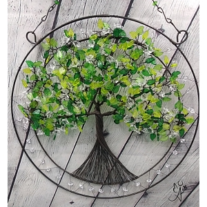 Drátovaný strom života - něžný příval energie I. 30 cm