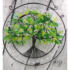 Drátovaný strom života - srdeční příval energie II.  20 cm