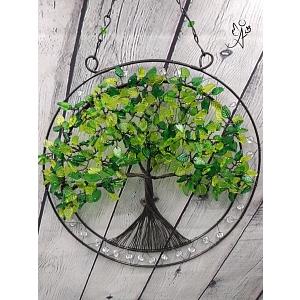Drátovaný strom života - srdeční příval energie II.  25 cm